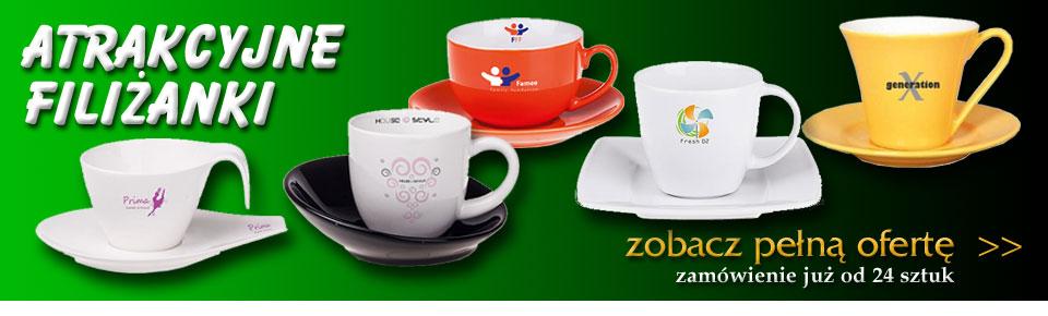 Filiżanki z nadrukiem online - katalog ceramiki, filiżanki, zestawy porcelany